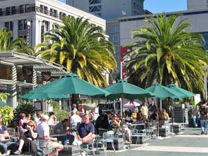 Union Square Strassencafe in San Francisco