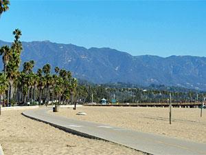 Der Strand von Santa Barbara