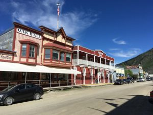 Western Flair in Dawson City