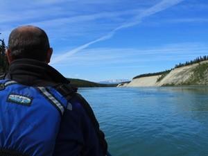 Auf dem Yukon River - alaska und yukon
