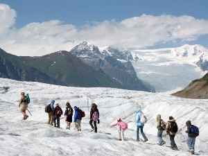 Wrangell St. Elias Nationalpark Gletscherwanderung Copyright St. Elias Guides