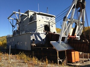 Dredge #4 bei Dawson City