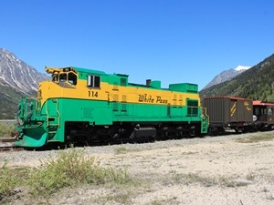 White Pass Eisenbahn
