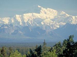 Blick auf den Mt. McKinley Copyright: State of Alaska Frank Flavin