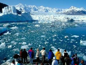 Bootstour zum Columbia Gletscher Copyright: Clark Mishler