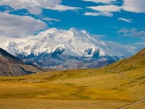 Der höchste Berg in Nordamerika