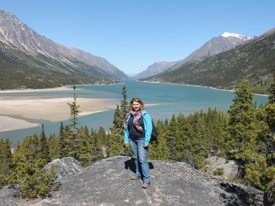 Yukon Rundreise Bennett Lake
