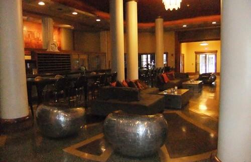 Die Lobby der Unterkunft in Buffalo