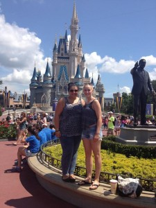 Disneyschloss im Magic Kingdom Orlando