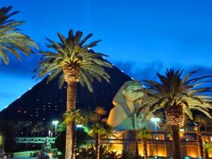 Die Luxor-Pyramide von Las Vegas