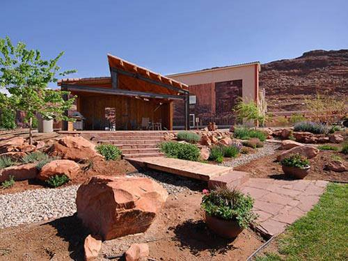 Die Lodge von außen