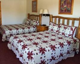 Zimmer außerhalb des Monument Valleys