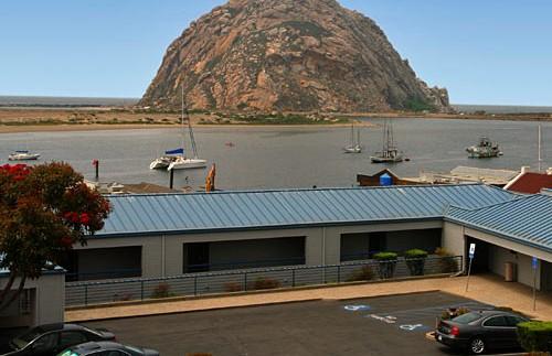Blick von der Unterkunft in Morro Bay