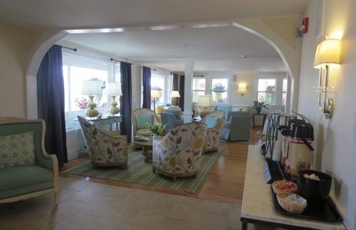 Die Lobby in Ogunquit
