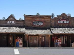 Shops im Westernstil beim Bryce Canyon
