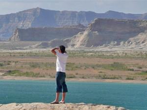 Blick auf den gigantischen Lake Powell