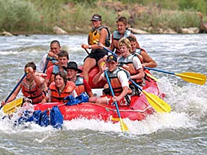 Colorado River Rafting bei Moab