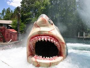 Der große Weiße Hai in den Universal Studios von Los Angeles