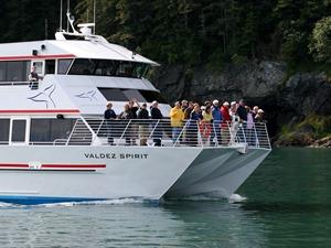 Bootstour zum Columbia Gletscher