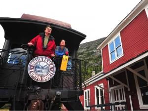 Mit dem Zug unterwegs, Copyright: Yukon Government