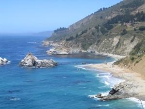 Die Küsten entlang des Highway No. 1