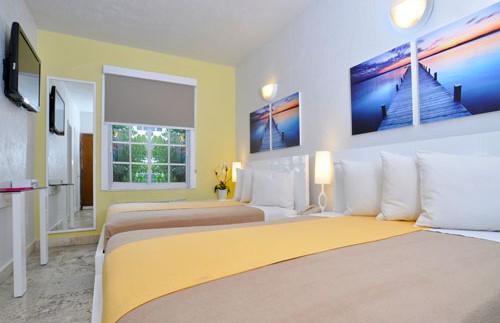 Das Hotelzimmer in Miami