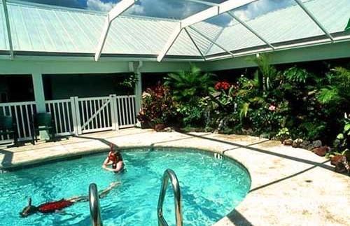 Die Unterkunft bietet auch einen Pool