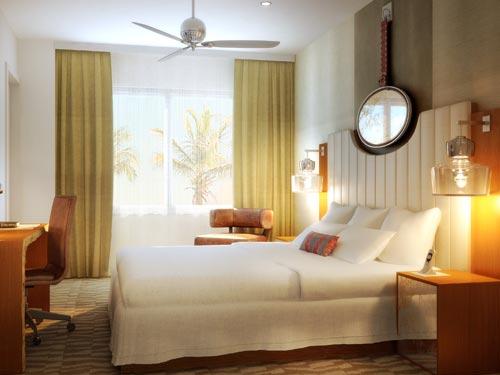 Das Zimmer in Miami