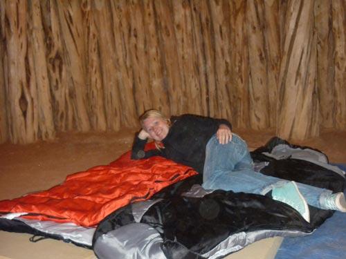 Übernachtung im Hogan