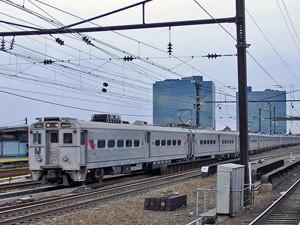 Die USA verfügen über ein gutes Bahnnetz
