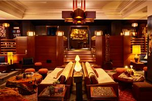 Die Lobby des Hostels