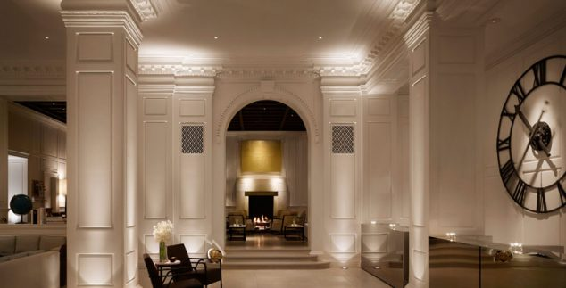 Lobby des Hotels in Chicago