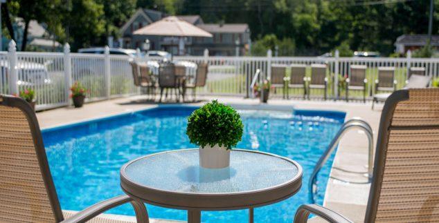 Entspannen am Pool in Kennebunk
