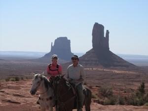Zu Pferd im Indianerland Monument Valley