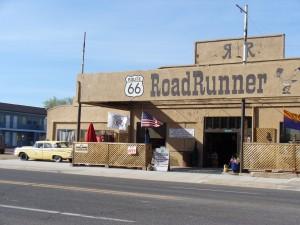 Route 66 bei Kingman