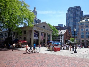 Quincy Markt in Boston