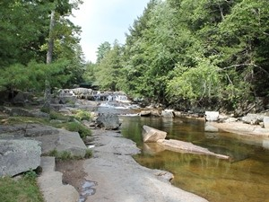 Fluss in den White Mountains