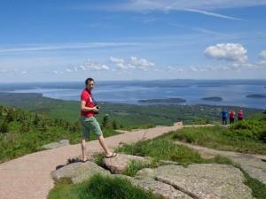 Herrlicher Ausblick im Acadia Nationlpark