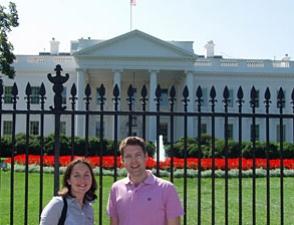 Das Weiße Haus in Washington DC