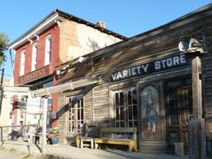 Ein lokales Geschäft an der alten Route 66