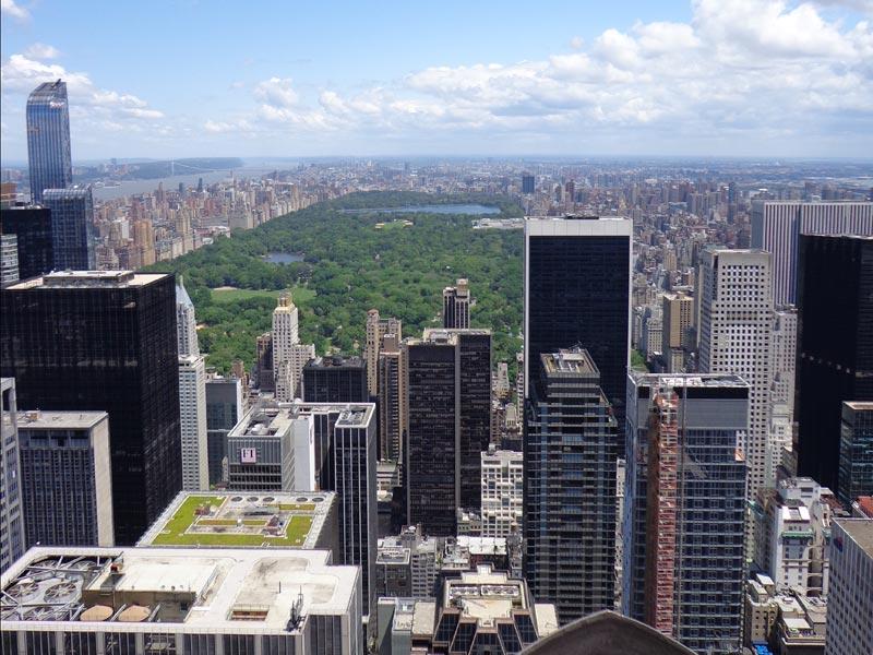 Skyline und Central Park