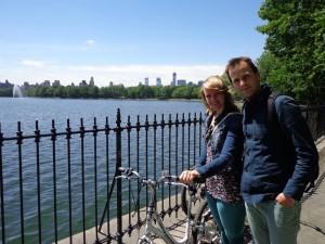 Eine Radtour durch den Centralpark New York