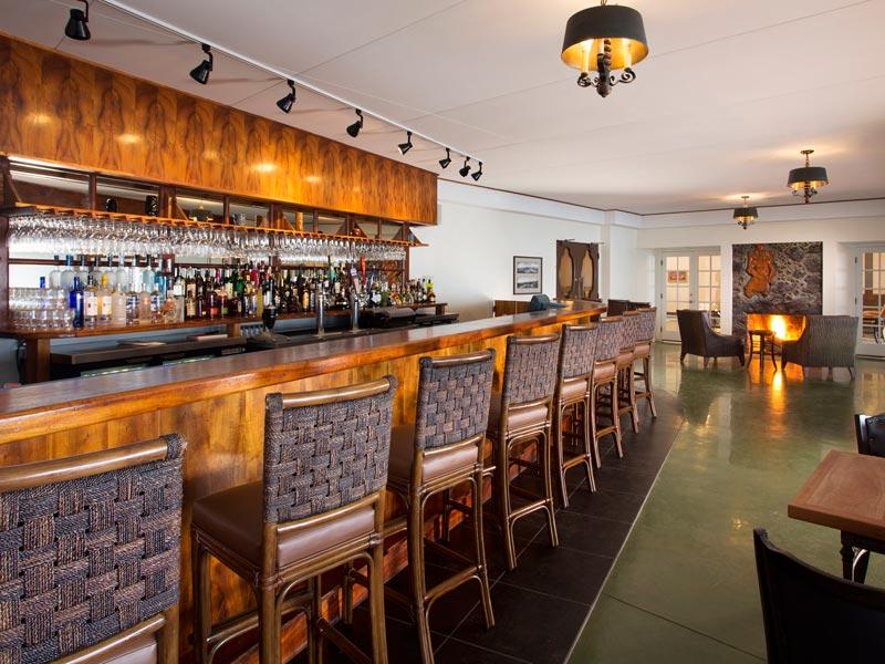 Die Bar der Special Stay Unterkunft