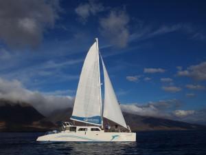 Mit dem Catamaran unterwegs