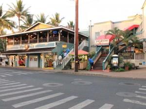 Küstenort Lahaina auf Maui