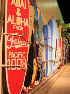 Hawaii Rndreise - Surfbretter auf Kauai