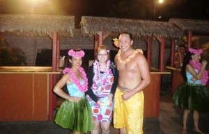 Traditioneller Luau Abend