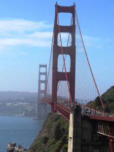 Mit dem Mietwagen über die Golden Gate Bridge