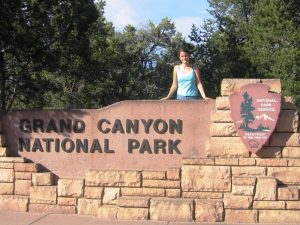 Das Eingangsportal zum Grand Canyon Nationalpark