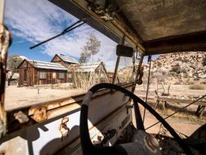 Verlassene Farm im Joshua Tree Nationalpark